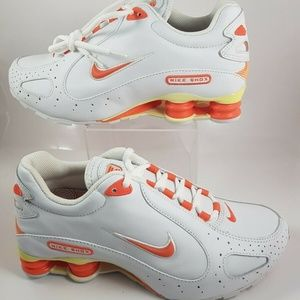 Nike Shox Monster Leather Running Sneakers